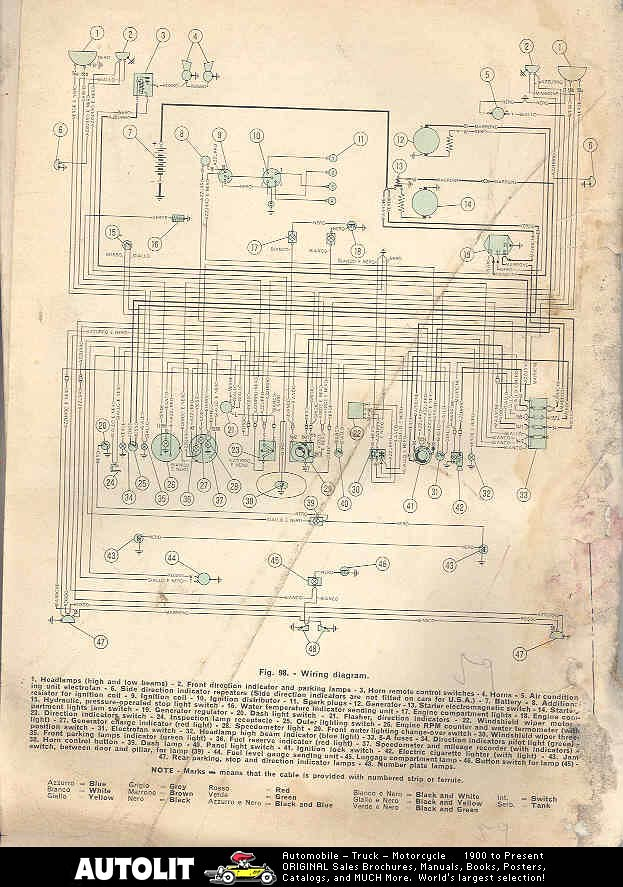 fiat tipo wiring diagram fiat o.s.c.a. 1600s wiring diagrams | flickr #11