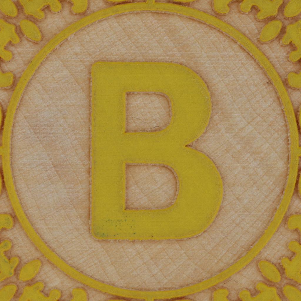 Block Letter B Leo Reynolds