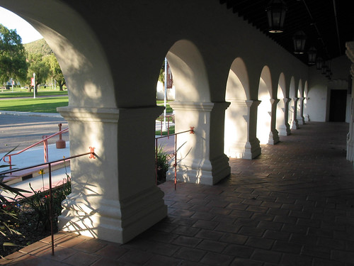 Veranda of Belltower Building: Front Entrance | by California State University Channel Islands