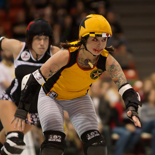 Rocky Mountain Rollergirls vs. Charm City Roller Girls 5 | by Second City Warehouse