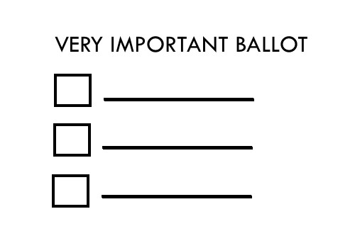 ballot templates word