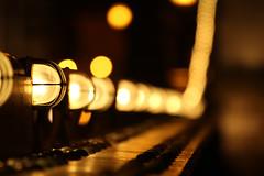Chain bridge lighting / Lánchíd megvilágítás (fel az égbe) by nemethz