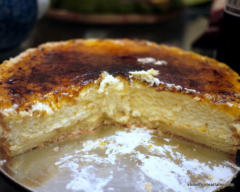 Brulee Cake Recipe