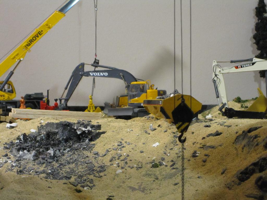 1 50 Scale Construction Diorama Vinny Schiano Flickr