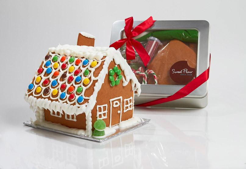 The Gingerbread White House >> Gingerbread House Kit | Sweet Flour Bake Shop | Flickr