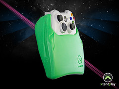 Xtendplay extends your xbox 360 or ps3 controller, vertically.