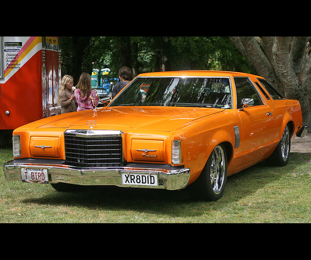 1977 Ford Thunderbird Stragglers Charity Kustom Amp Classic Flickr