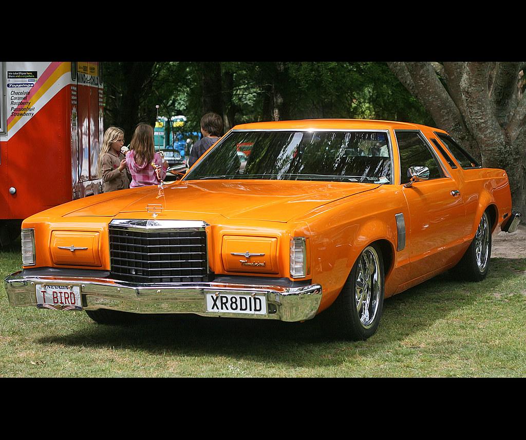 1977 Ford Thunderbird Stragglers Charity Kustom