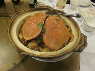 Yum's Bistro - Fremont, CA - April 2011 - Hunan Clay Pot Dungeness Crab | by garyalanfine