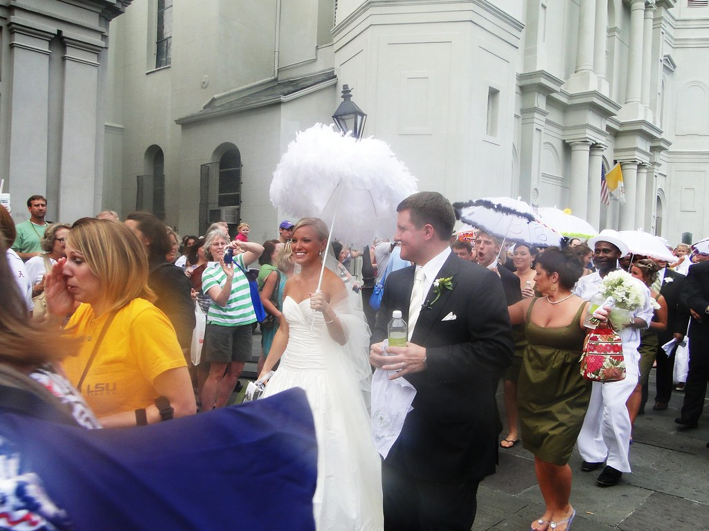 New Orleans style wedding with LSU band | This New Orleans s… | Flickr