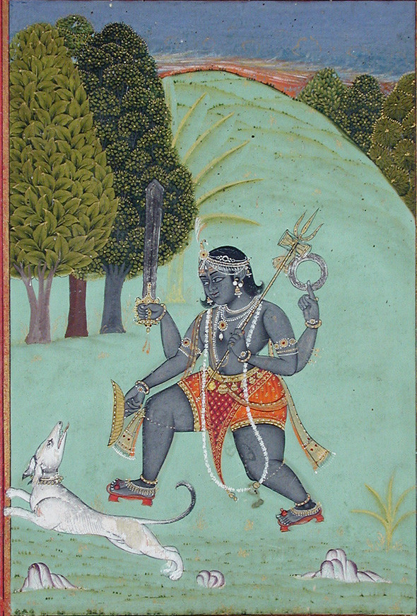 Shiva in Bhairava mode