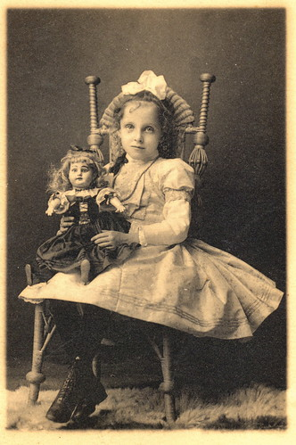 Victorian Girl & Her Doll | Sweet little girl and her ...