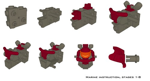 Marine Instructions 1-8 | by Becheman