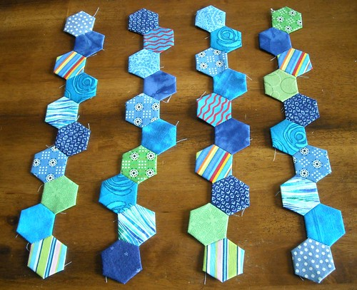 hexagons for DQS9 | by vickivictoria