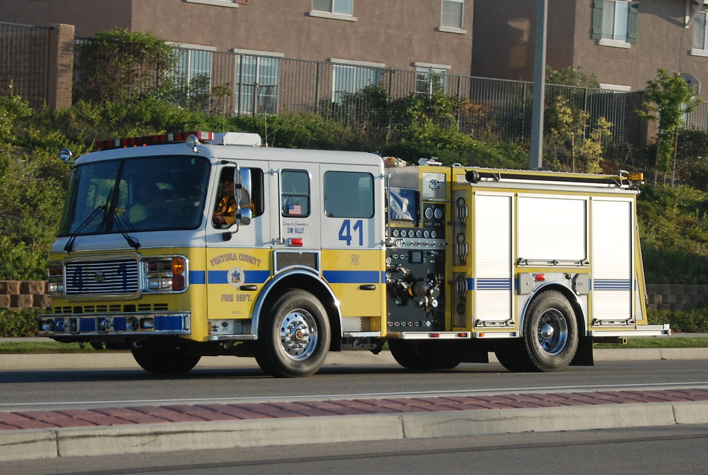 Map Of Ventura Fire >> VENTURA COUNTY FIRE DEPARTMENT (VCFD) ENGINE 41 | VCFD Fire … | Flickr