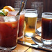 Bloody Marys with a Civilized Beer Back