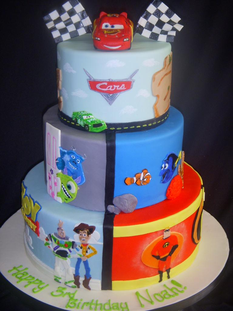 Disney Pixar Cars Cake Decorations