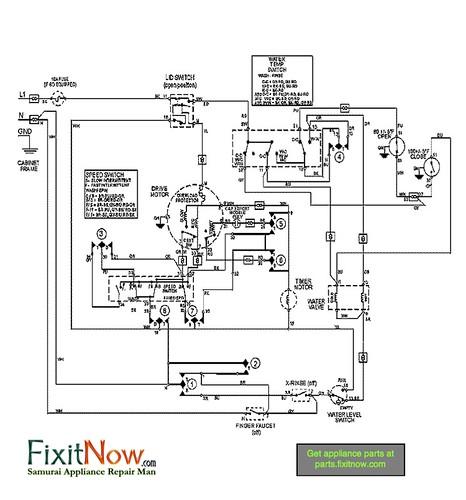 maytag washer mavt834 wiring diagram