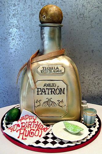 Patron Bottle Cake Pan