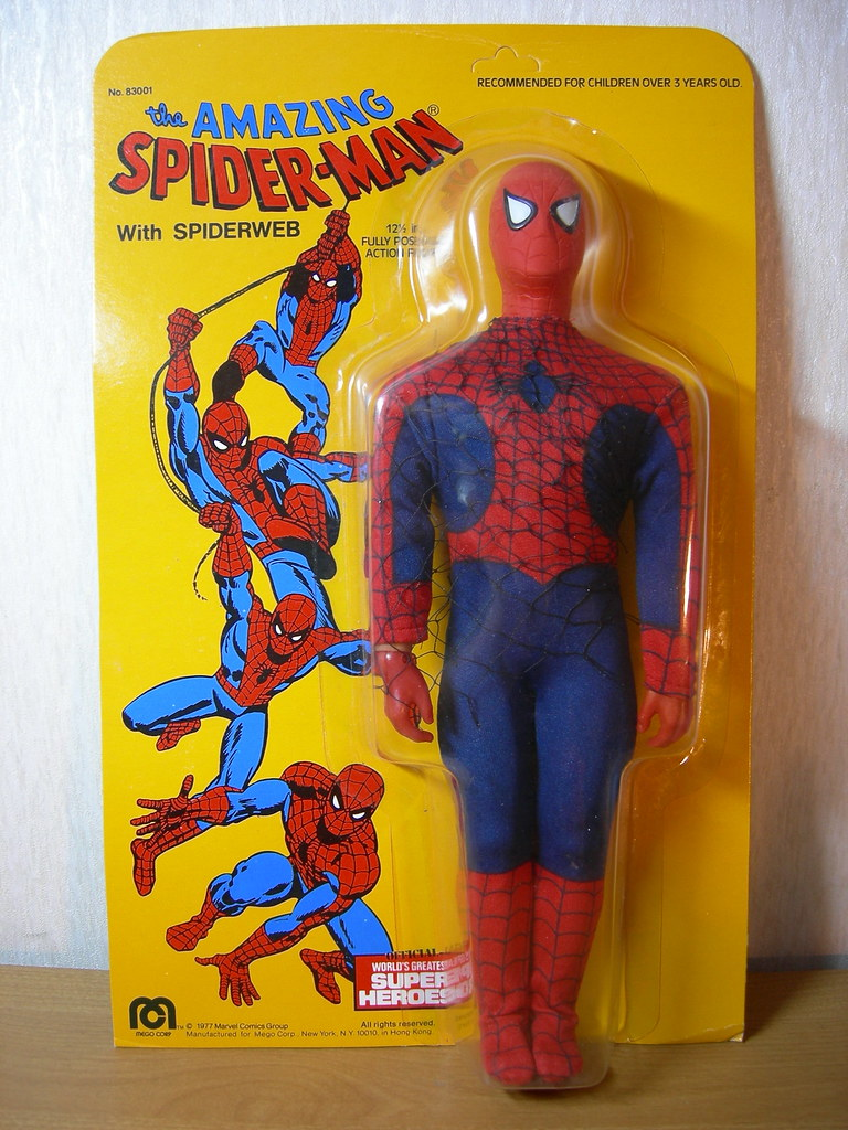 Spider Man 1977 1977 Mego Spider Man | by