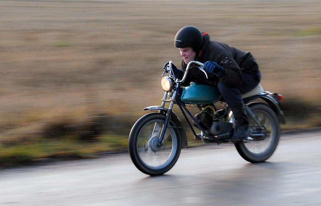 Tunturi Super Sport Flat Out Speed Trials By Gps 60km H