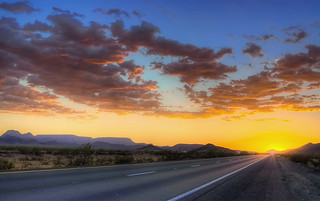 Arizona Sunset on the I-10 West | by Bright SaeTung