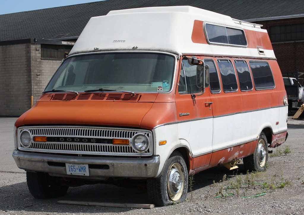 1973 Dodge Travco Camper Van | Richard Spiegelman | Flickr