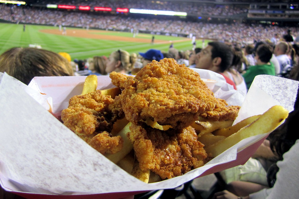 Denver lodo coors field rocky mountain oysters flickr for Dining near at t park