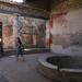 Les visiteurs du Temple - Pompei les ruines