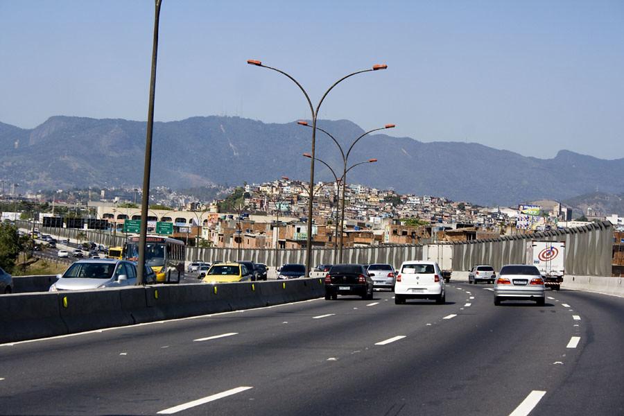 Populares Linha Vermelha | Paizagem vista da Linha Vermelha. Rio de Ja  WQ39