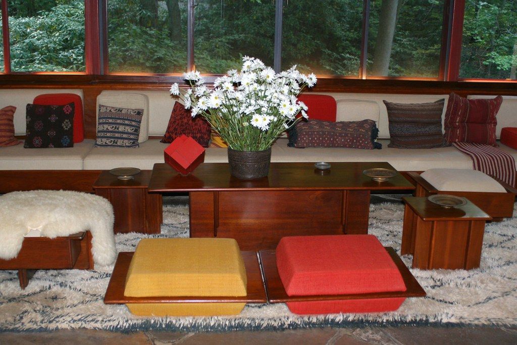 Frank Lloyd Wright Furniture At Fallingwater Christopher