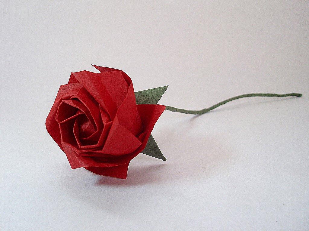 kawasaki rose origami instructions cp - DriverLayer Search ... - photo#10