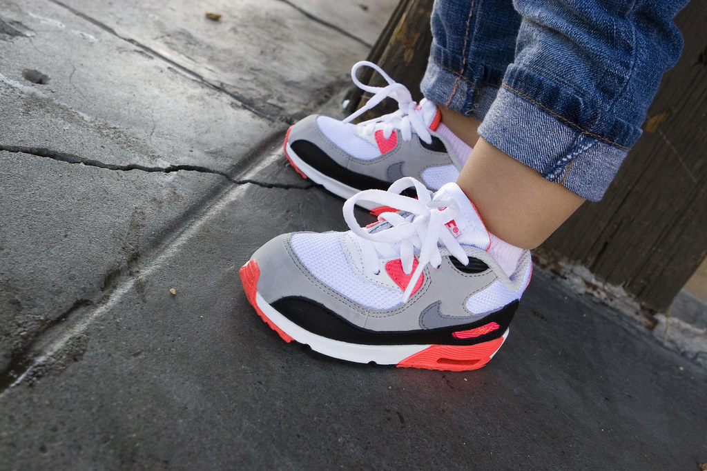 nike air max 90 infrared toddlers shoes