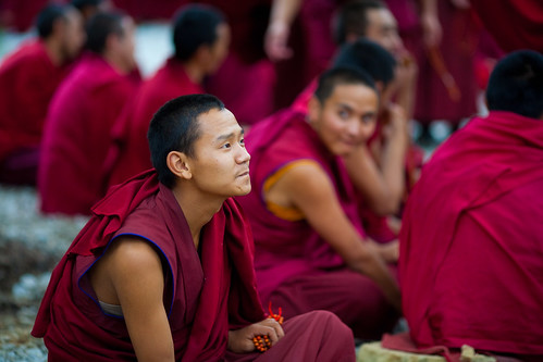 Monks at Sera Monastery 5 | by eleephotography