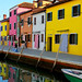 The colors of Burano Island