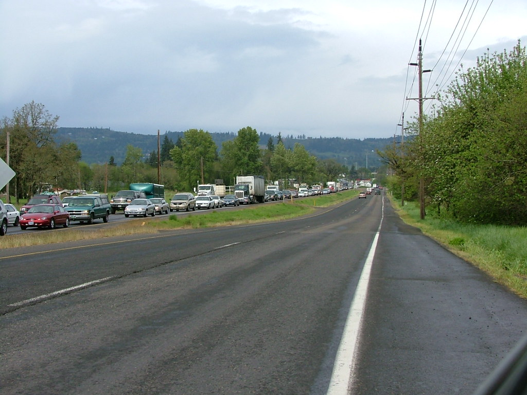 Oregon 99 Traffic Phase 1 Of The Newberg Dundee Bypass