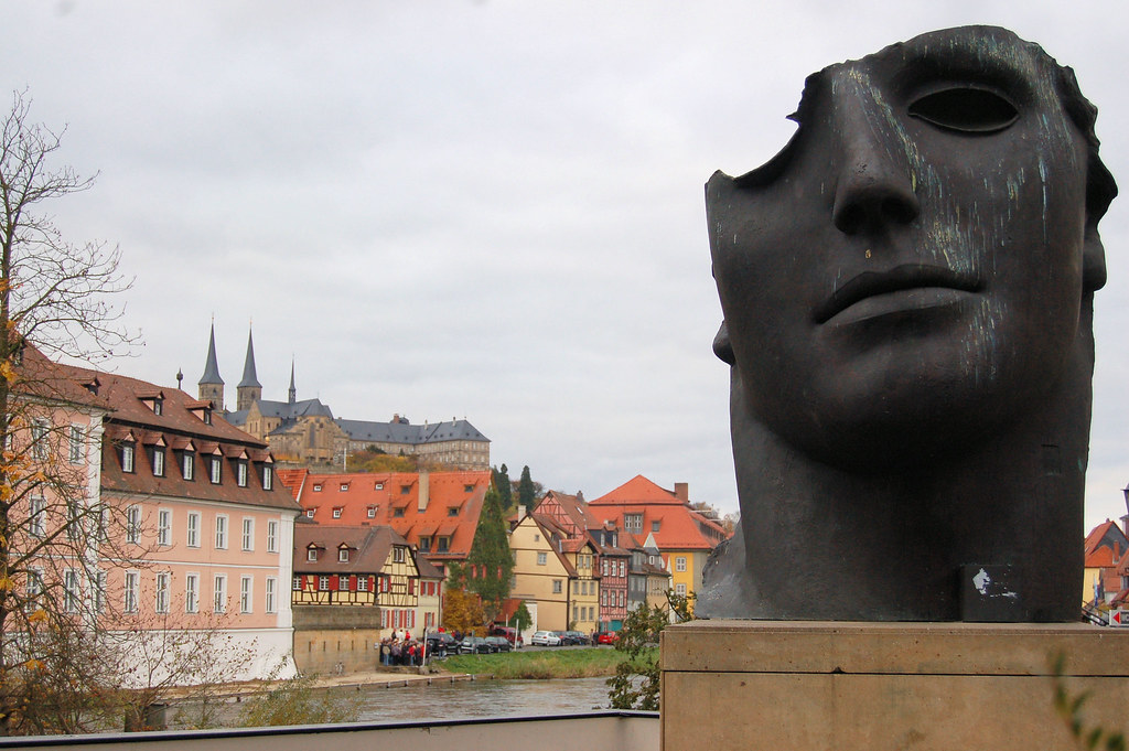 Badausstellung Bamberg bamberg germany in the sun statue mbell1975 flickr