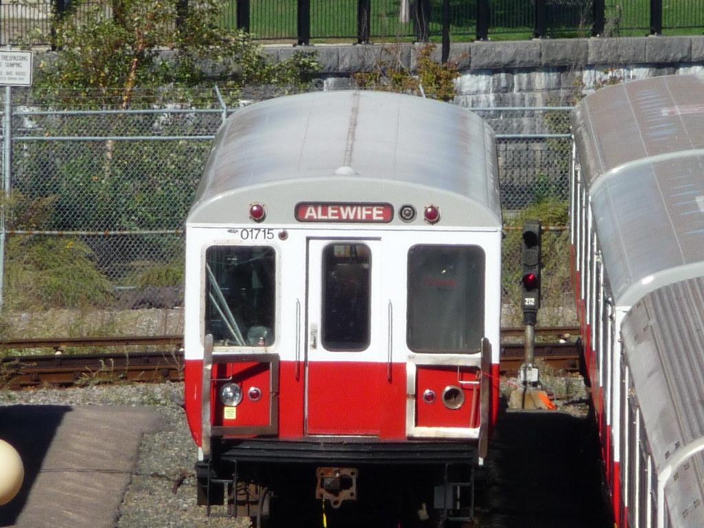 Mbta Red Line Utdc Car 01715 In The Cabot Yard Ck4049 Flickr