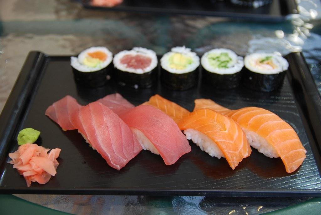 Nigiri Sushi, Hosomaki - Uta Sushi Bar | Sushi bar branch of… | Flickr
