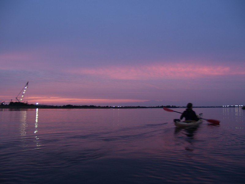 A tranquil time to paddle