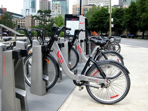 Montreal's BIXI bikes | by James D. Schwartz
