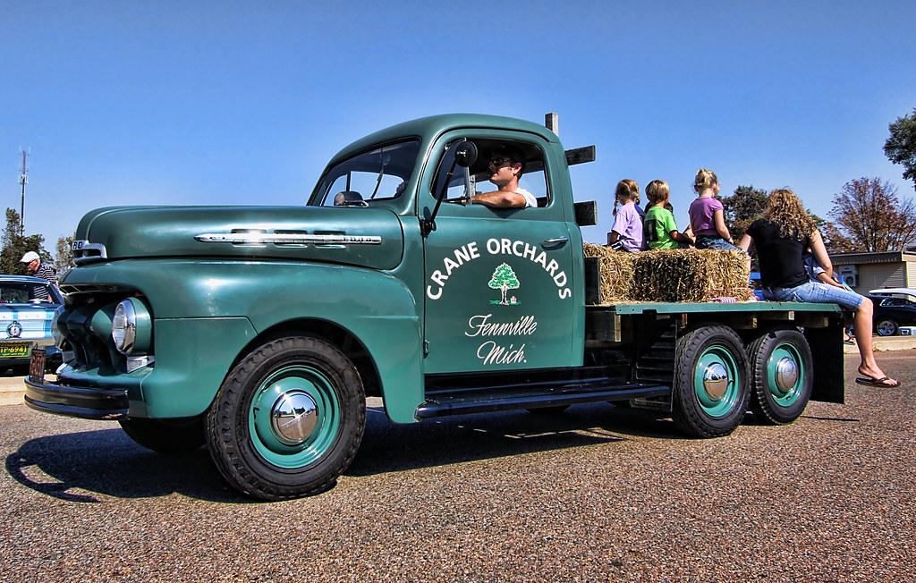 1951 ford f4 farm truck car show at the fennville goose fe flickr. Black Bedroom Furniture Sets. Home Design Ideas