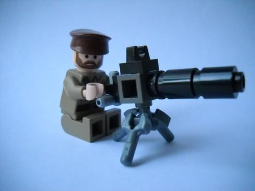 How to build a lego machine gun that works