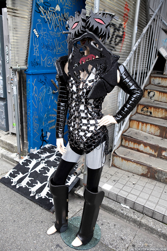 Dog Harajuku Fashion Fangophilia Rings Myob Nyc Bag: Another Amazing Mannequin