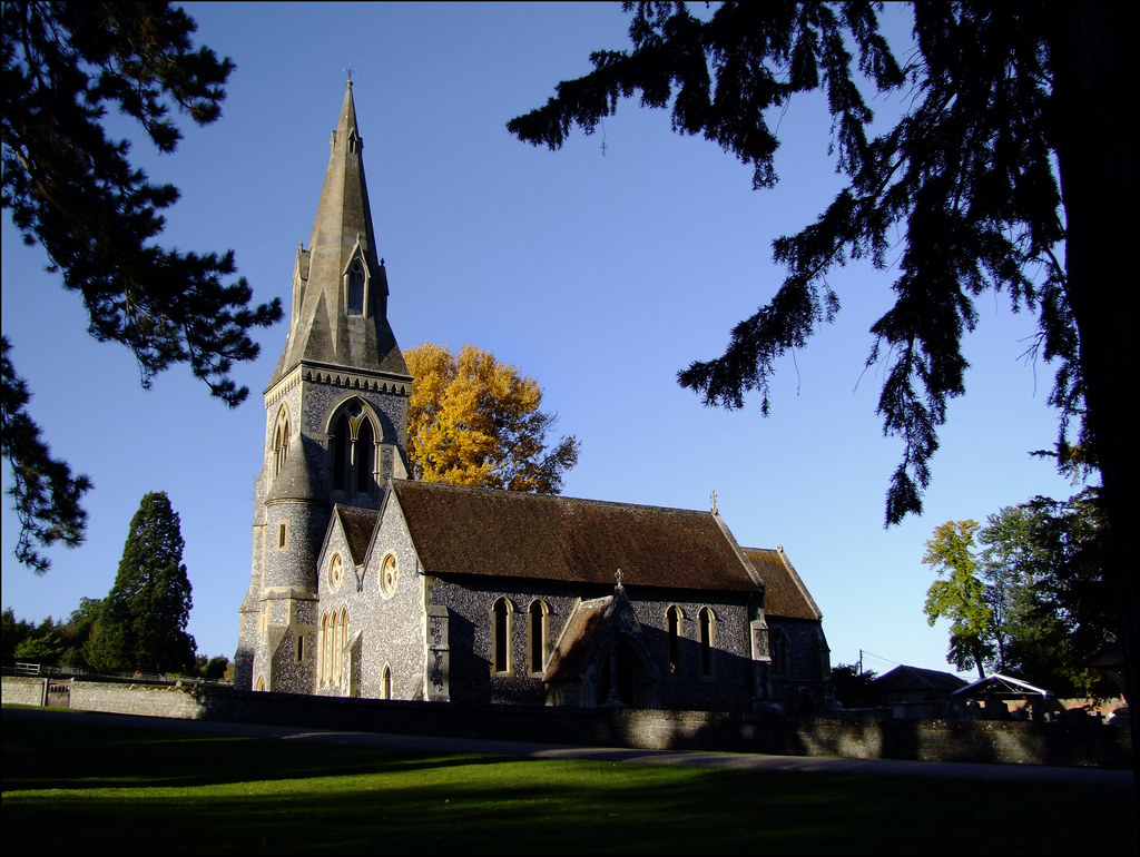 Englefield church st mark 39 s church can be found at the St mark s church englefield