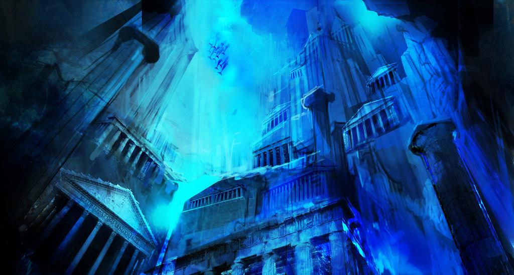 Blog Atlantis Underwater Concept   by PlayStation Blog. Atlantis Underwater Concept   God of War Collection  Lost At    Flickr