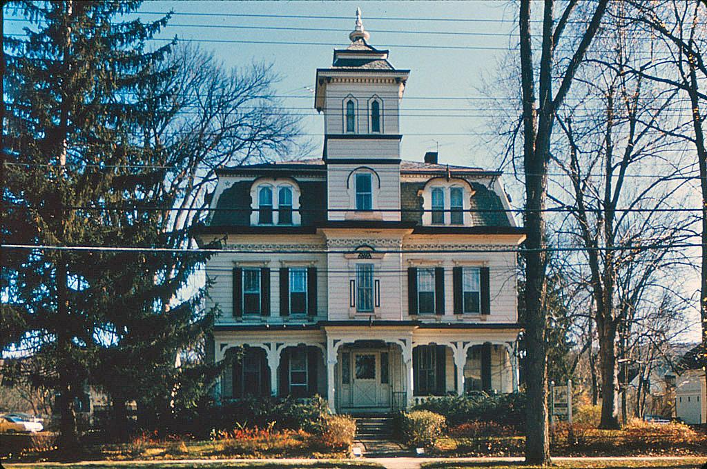 Mansard Style House In Keene New Hampshire Title Mansard