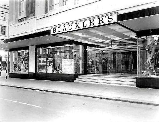 Liverpool - Blackler's Shop Front C 1950s
