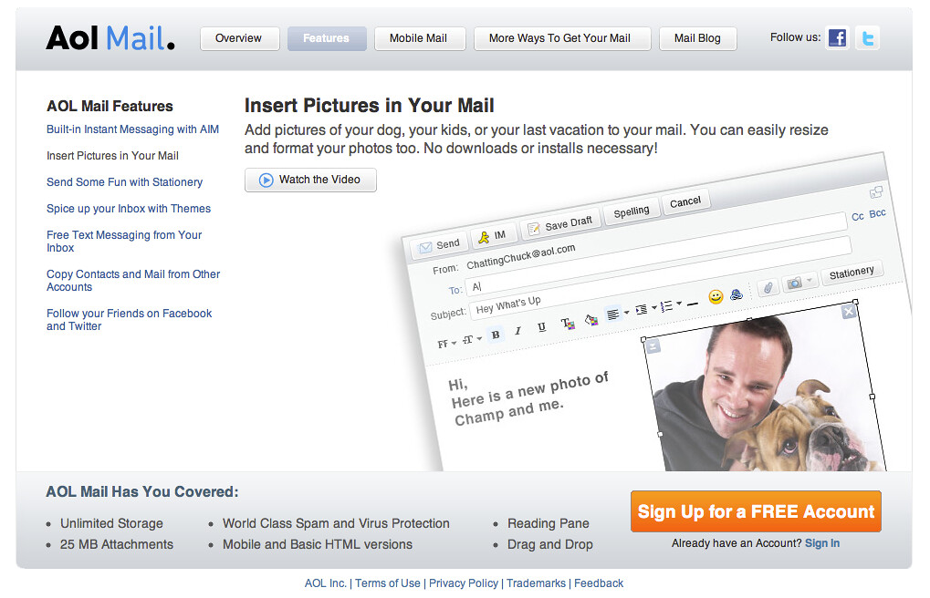 how to delete insert photos on your email