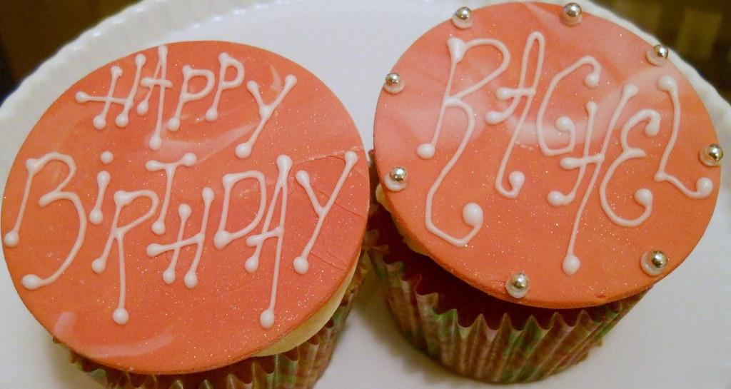 Happy Birthday Rachel 2 Custom Kitschy Desserts Cupca Flickr